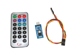 afstandsbediening met sensor en  kabel